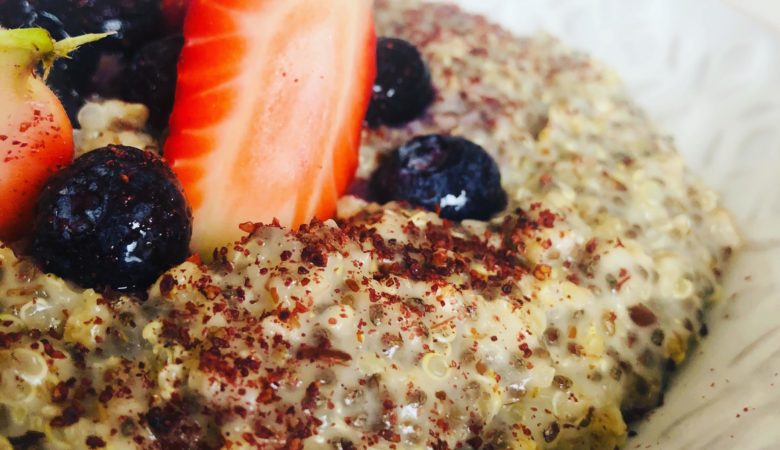 10-Minute Healthy Seed Quinoa Oatmeal