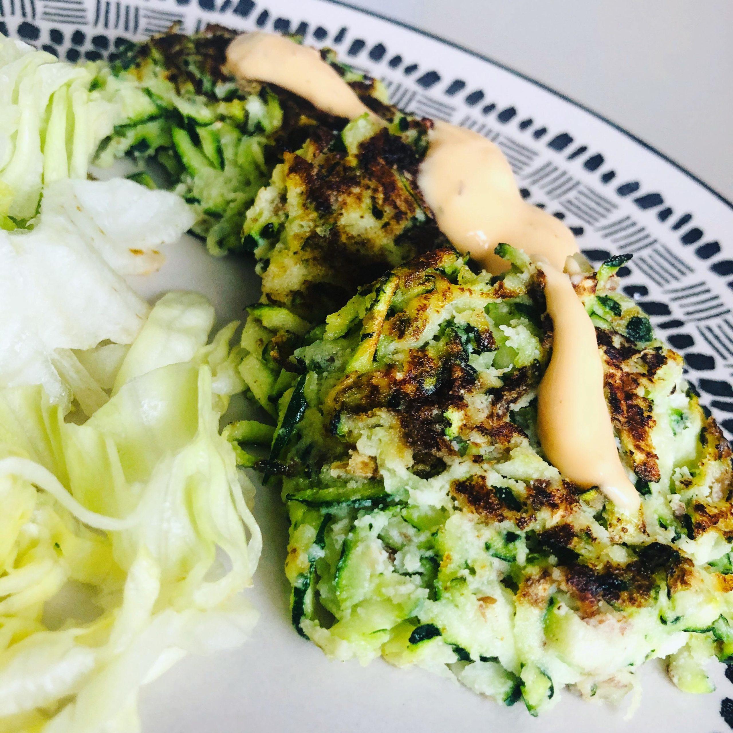 Easy Gluten-Free Vegan Zucchini Fritters