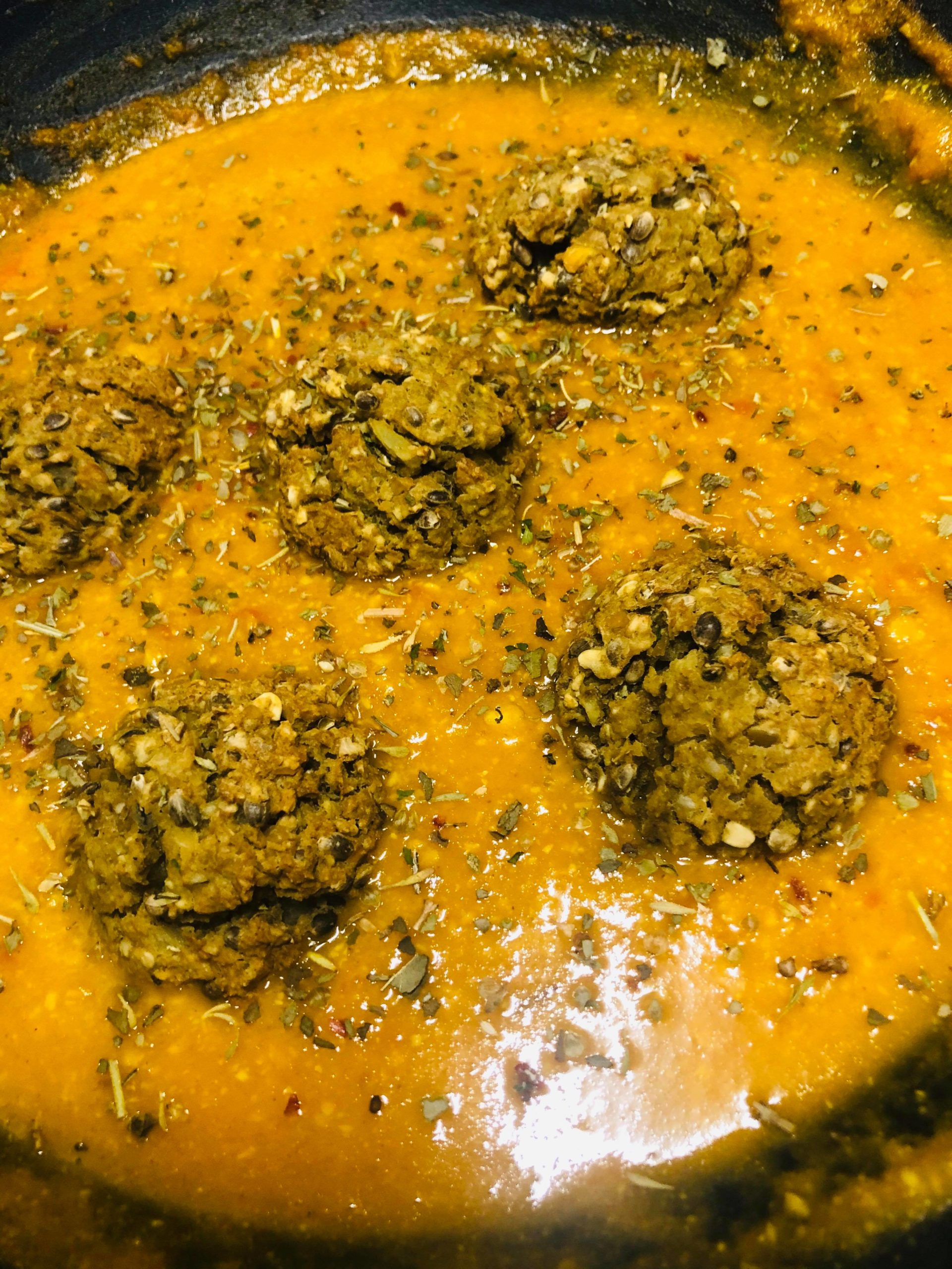 Vegan Restaurant-Style Curry With Koftas