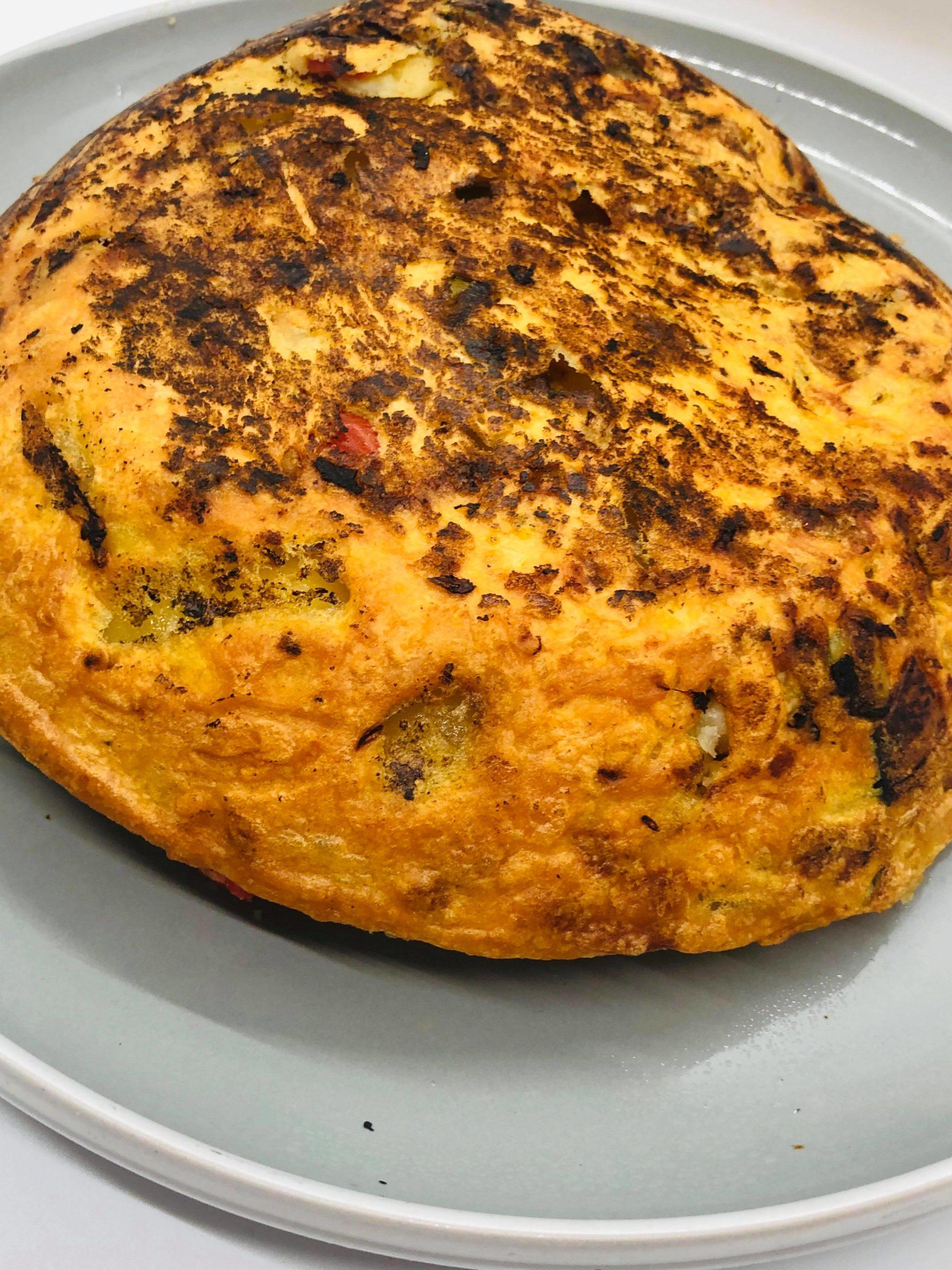 Easy Healthy Vegan Gluten-Free Spanish Tortilla