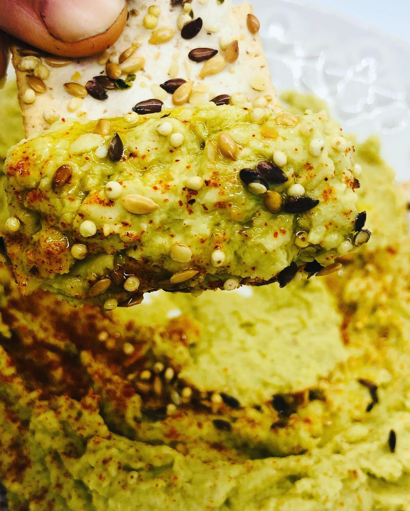 Creamy 5-Minute Broad Bean Hummus