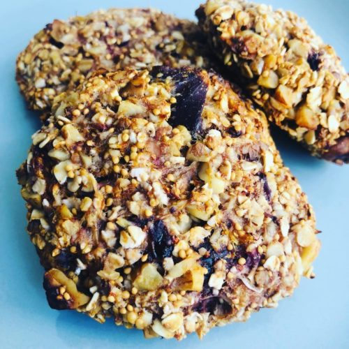 3-Ingredient Vegan Fresh Fig Cookies