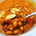 Easy Curried Oil-Free Pinto Bean Soup