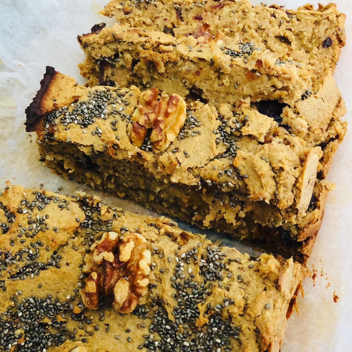 Easy Healthy Vegan Blondie Bread