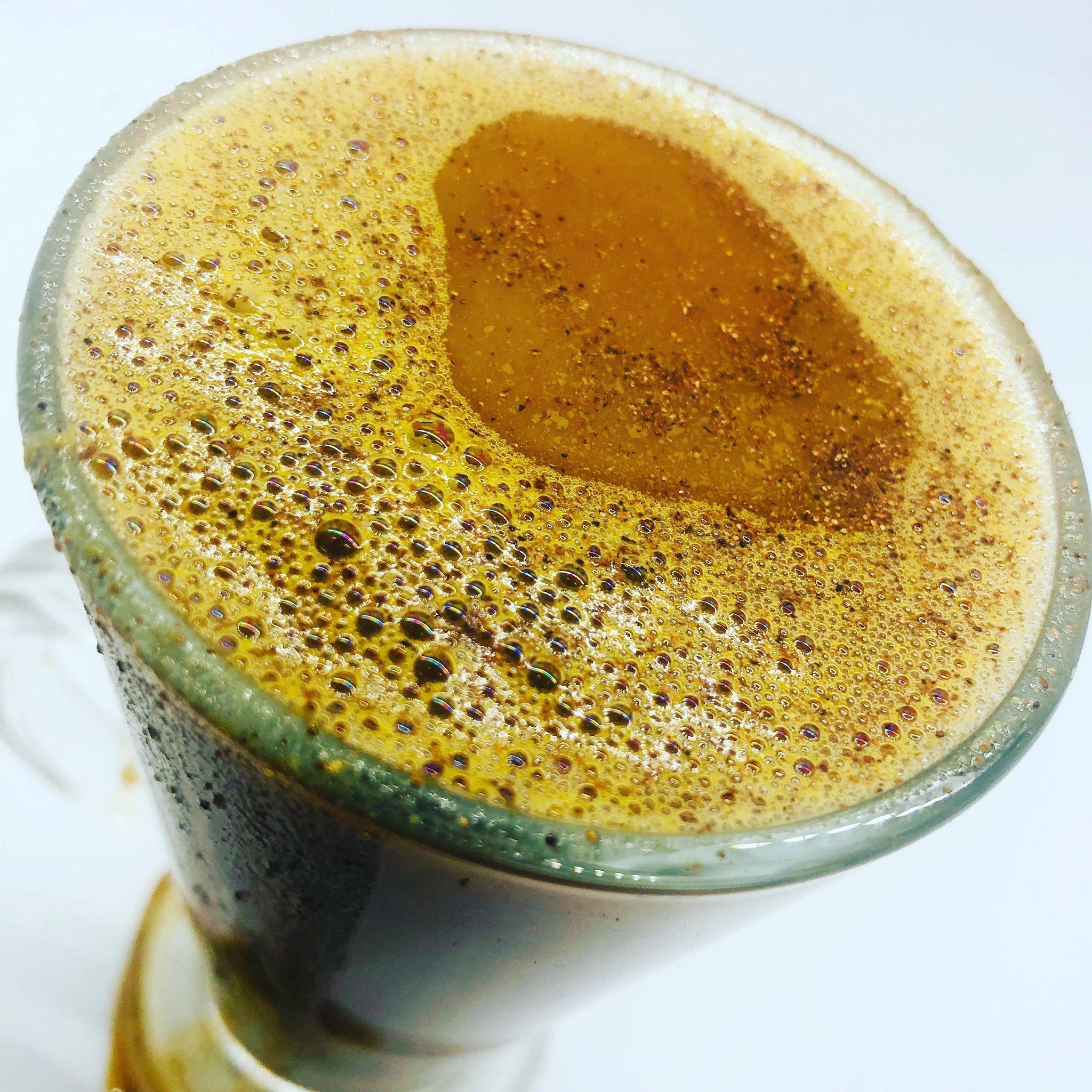 5-Minute Warm Vegan Pumpkin Spiced Latte