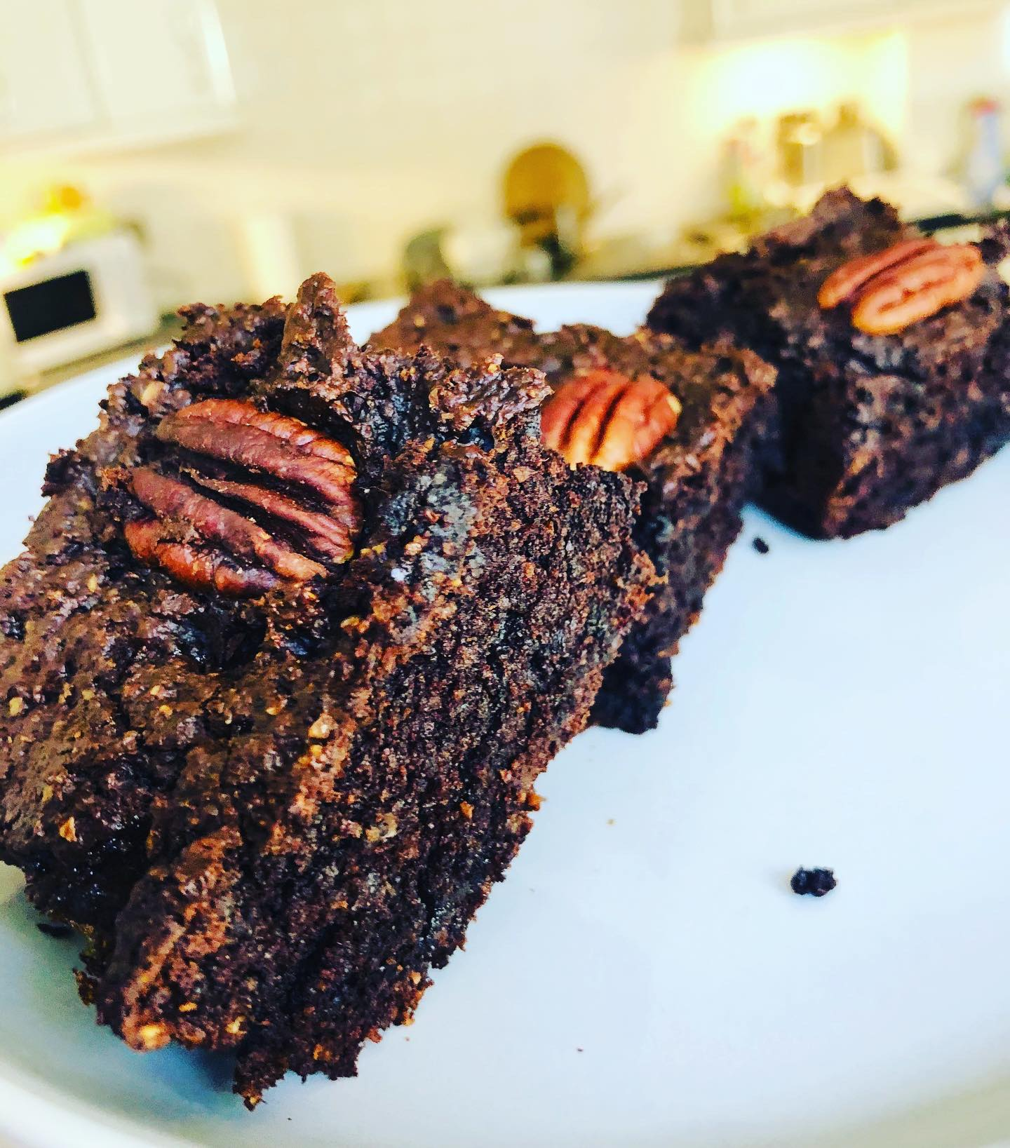 Easy Healthy Gluten-Free Vegan Coffee Brownie