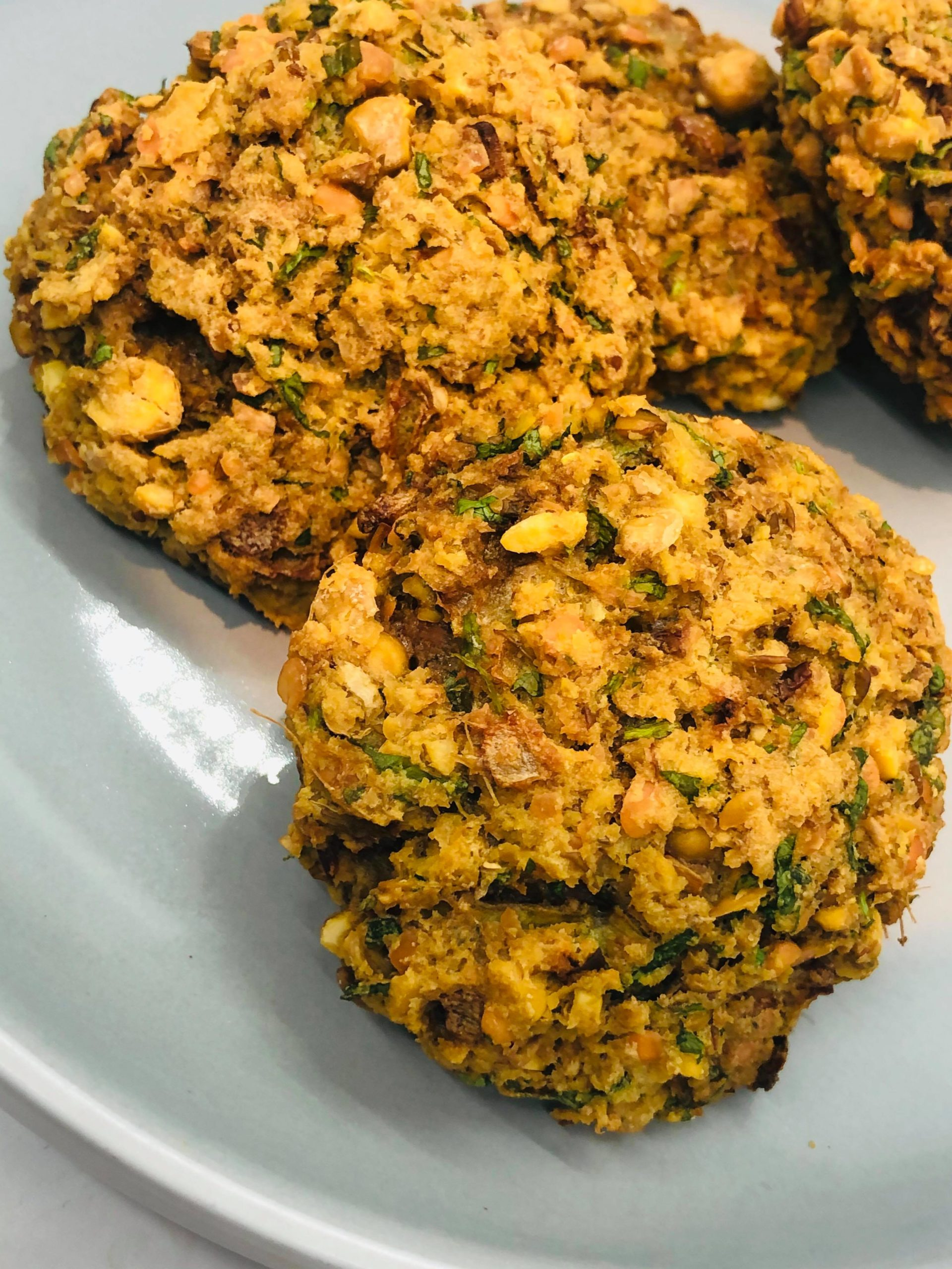 Easy Baked Vegan Gluten-Free Chickpea Cakes