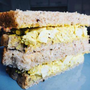 10-Minute Vegan Egg Mayo Sandwich