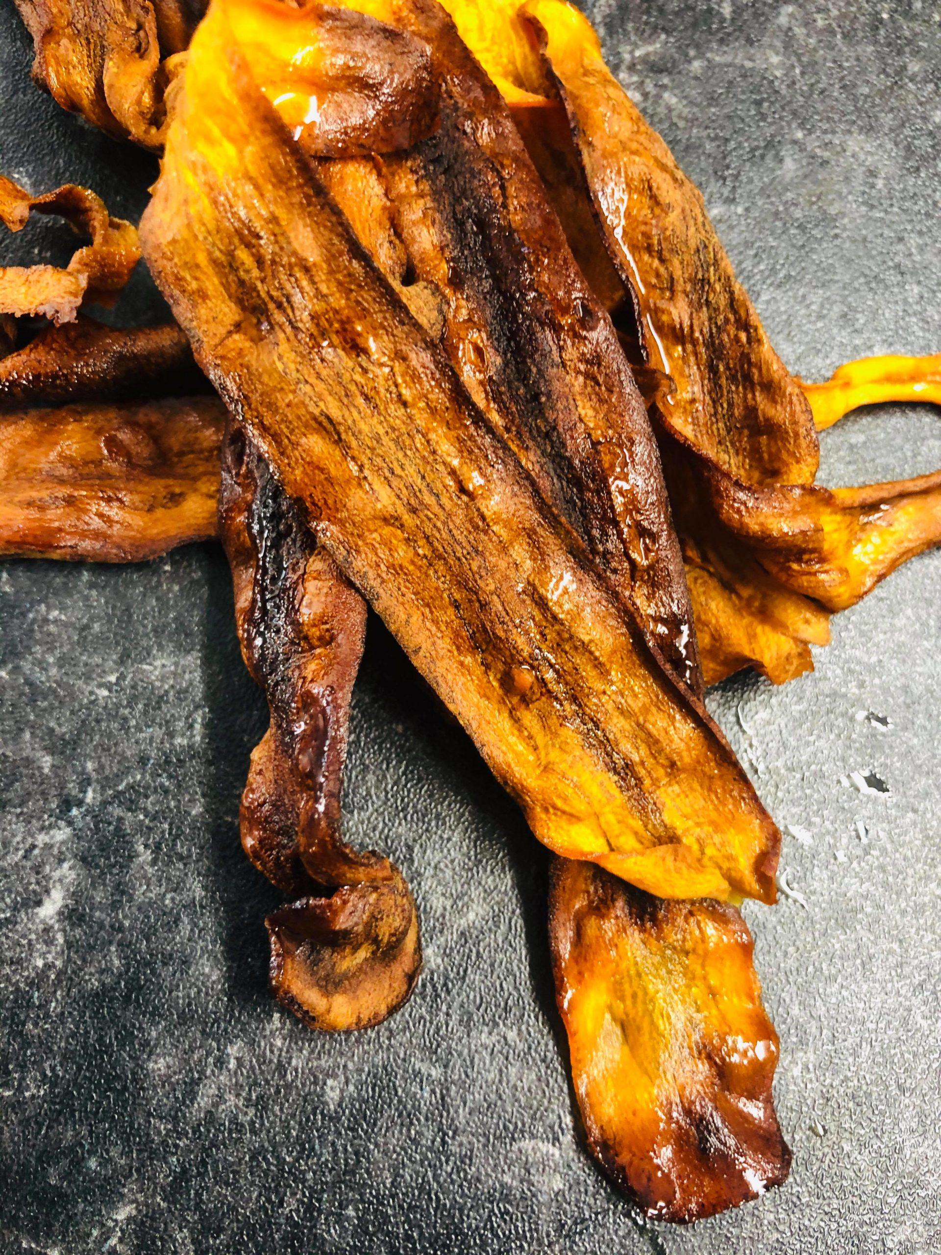 Easy Vegan Carrot Bacon