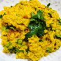 1-Pot Quick Vegan Red Lentil & Coriander Dhal