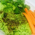Easy Raw Vegan Pea Hummus
