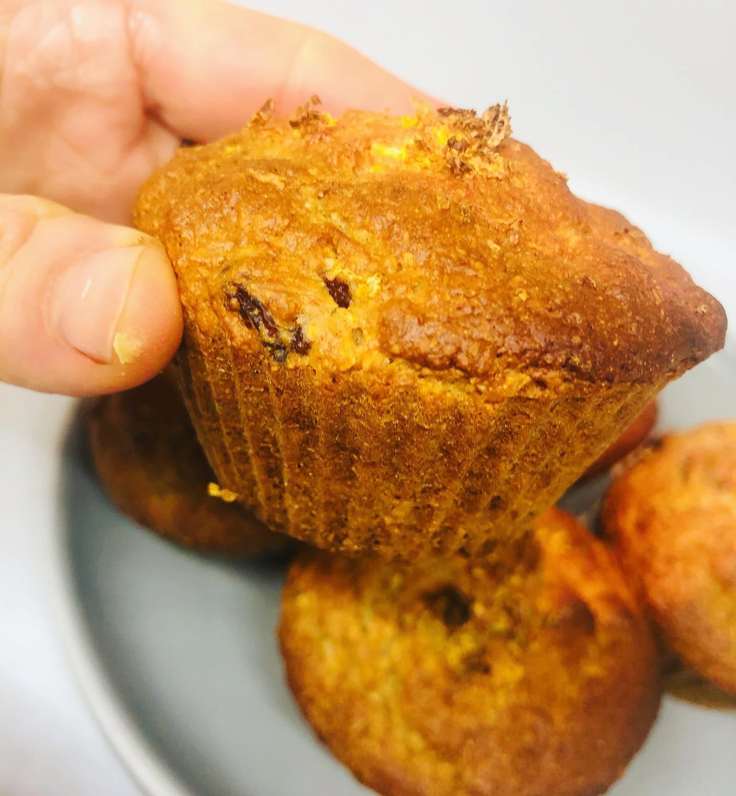 Easy Healthy Vegan Cranberry Lemon Muffins