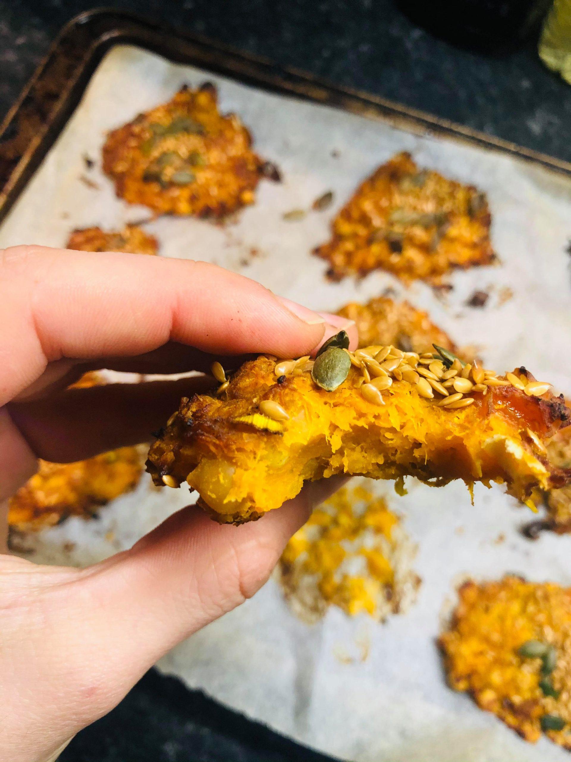 Vegan Squash & Chickpea Patties