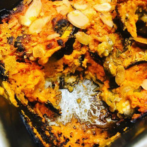 Oil-Free Creamy Vegan Tomato & Eggplant Bake