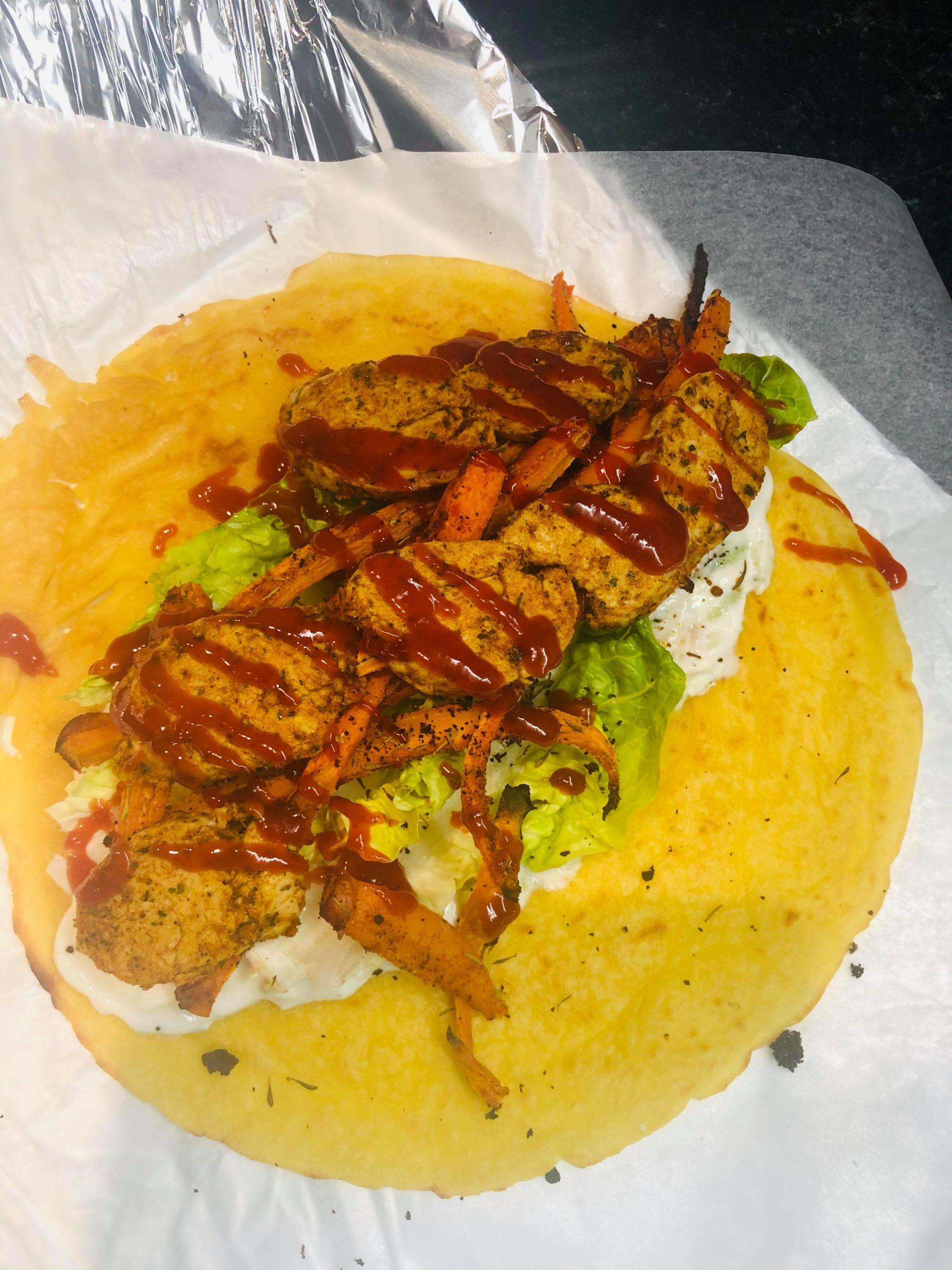 Gluten-Free Vegan Loaded Gyros