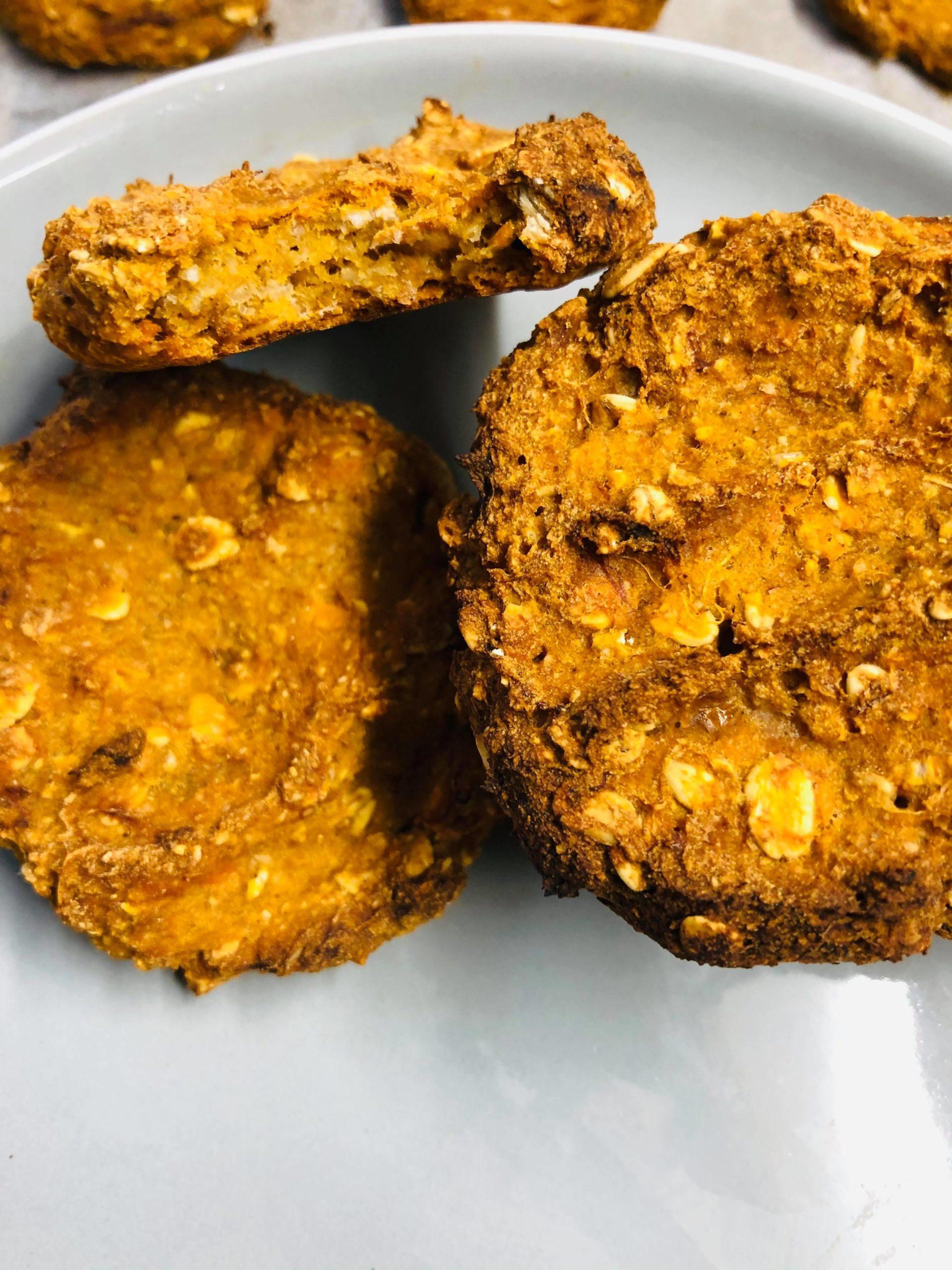 Easy Healthy Vegan Sweet Potato Cookies