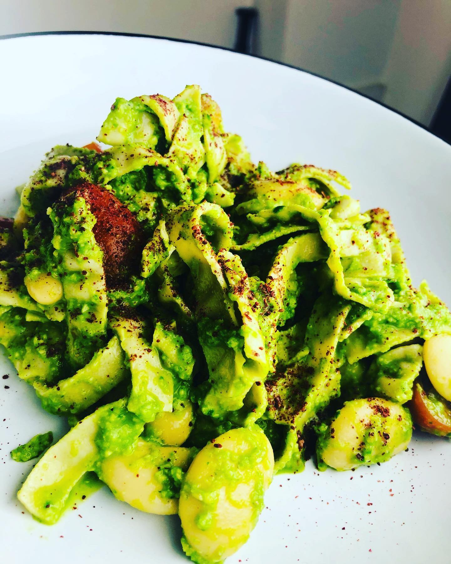 10-Minute Creamy Avocado & Lime Pasta