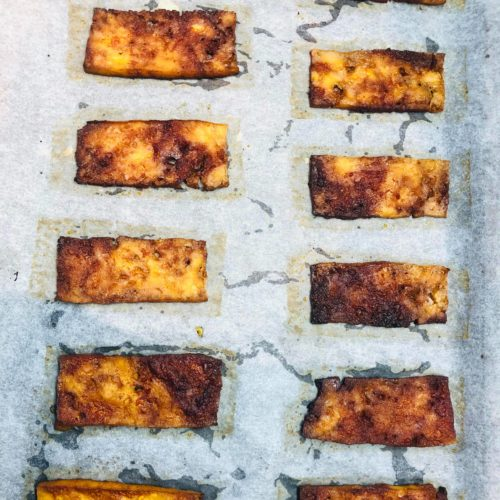 Easy Oil-Free Vegan Tofu Bacon