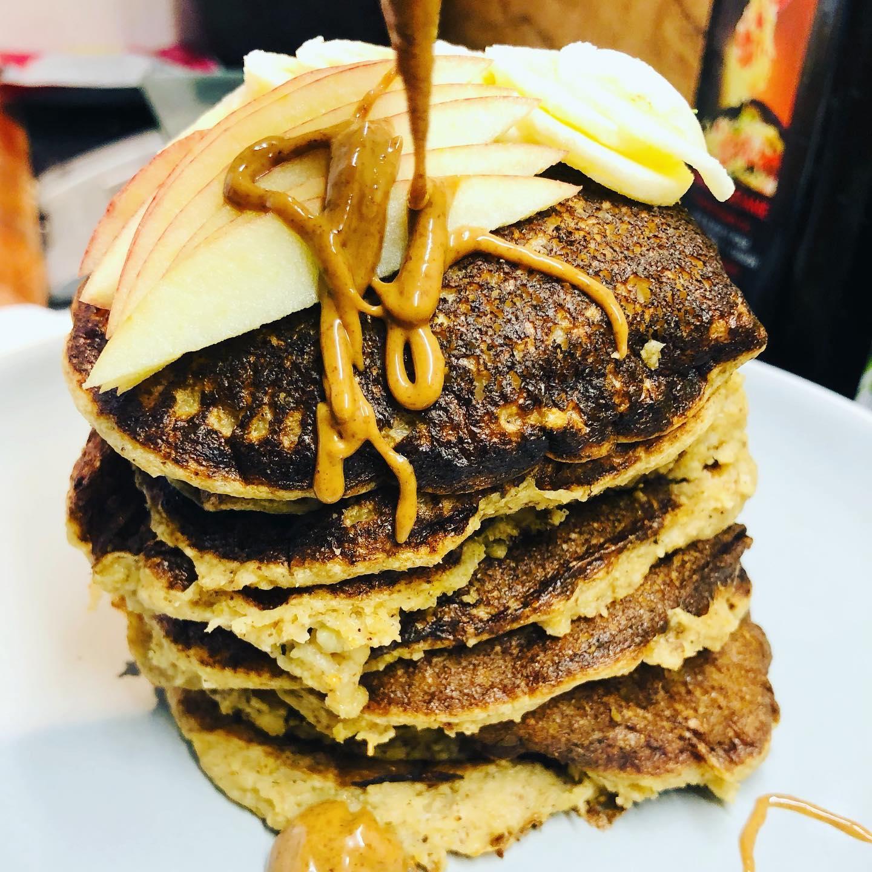 Super Quick Vegan Pancakes