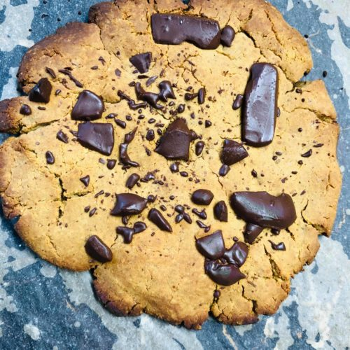 Giant Vegan Protein Cookie 15g Of Protein Per Cookie
