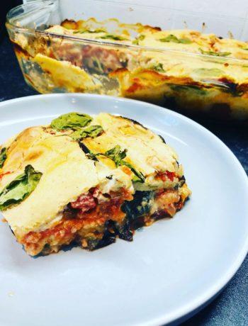 Oil-Free Vegan Eggplant Parmigiana