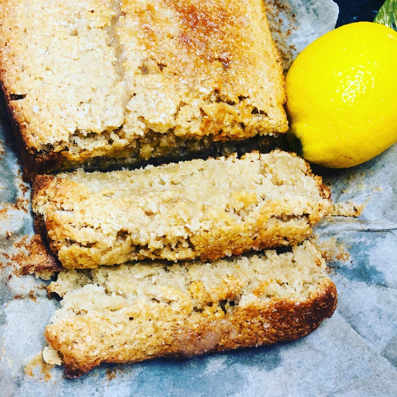 Gluten & Oil-free Vegan Lemon Cake