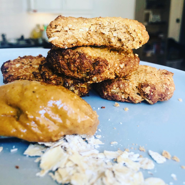 3-Ingredient Vegan Peanut Butter Cookies