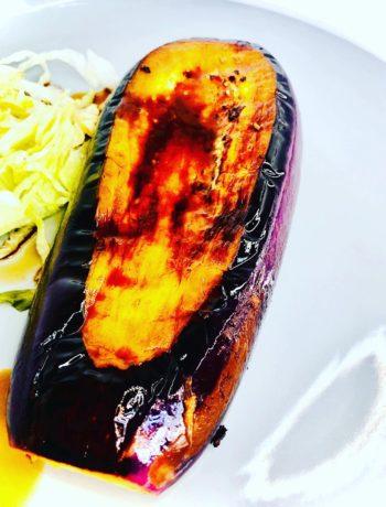 Soy Chilli & Ginger Eggplant Steak