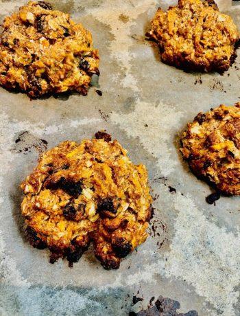 Easy Vegan Carrot Cake Cookies