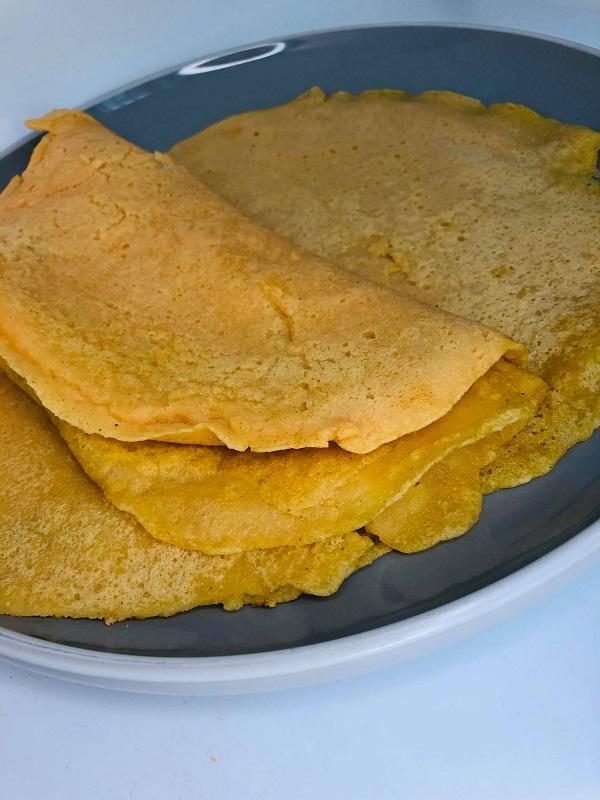 1-Ingredient Red Lentil Protein Tortillas
