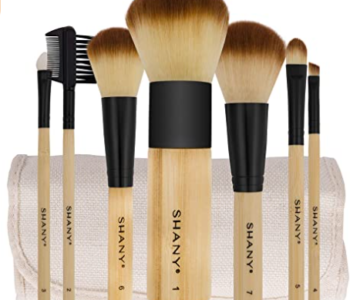 Bamboo Brush Set - Vegan Makeup Brushes