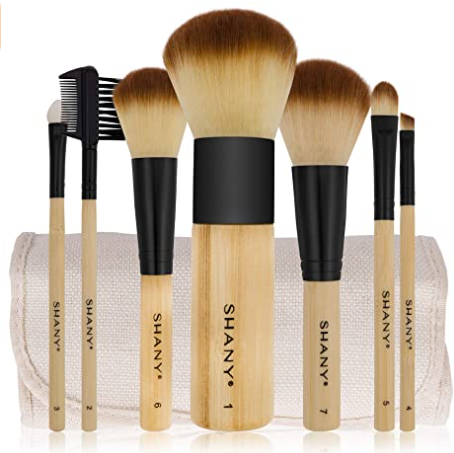Bamboo Brush Set - Vegan Makeup Brushes