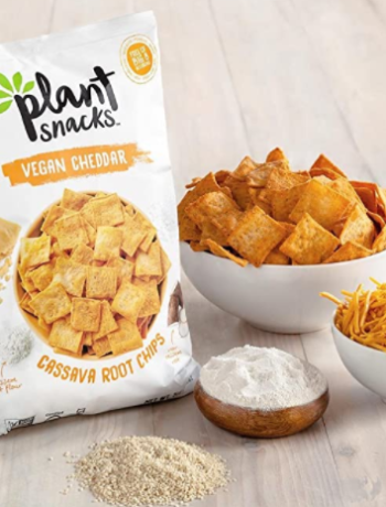 Plant Snacks VEGAN Cheddar Mix Cassava Root Chips