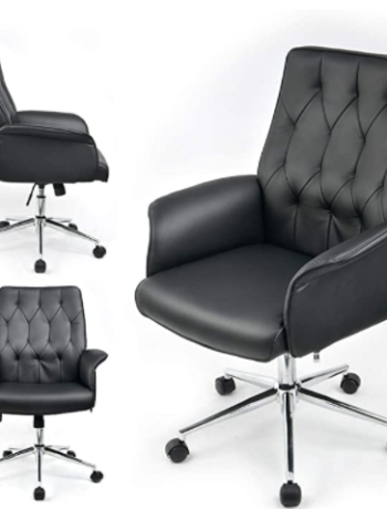 Home Office Chair Vegan Leather