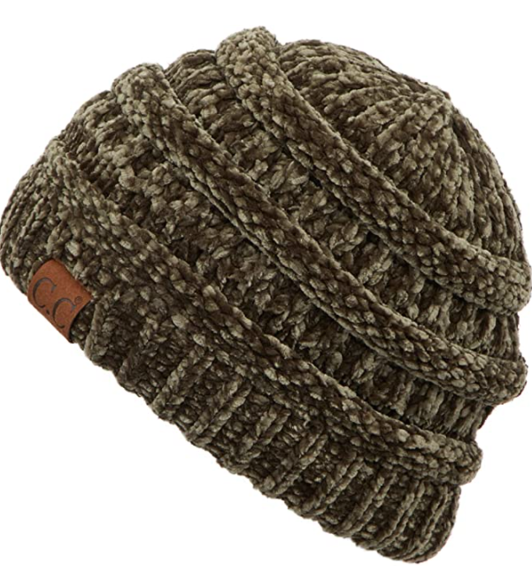 Cable Knit Beanie - Thick Soft & Warm Chunky Beanie Hats