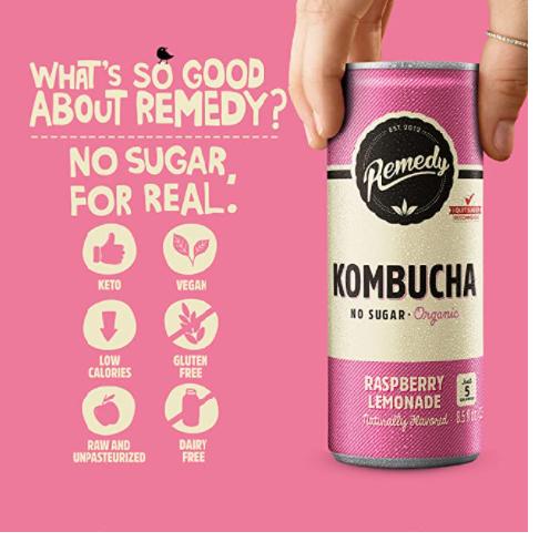 Raw Kombucha Product Review