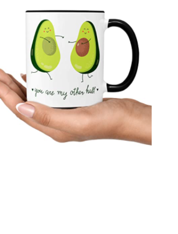 Super Cute Vegan Avocado Mug