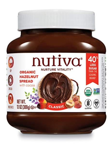 Organic Vegan Chocolate Hazelnut Spread