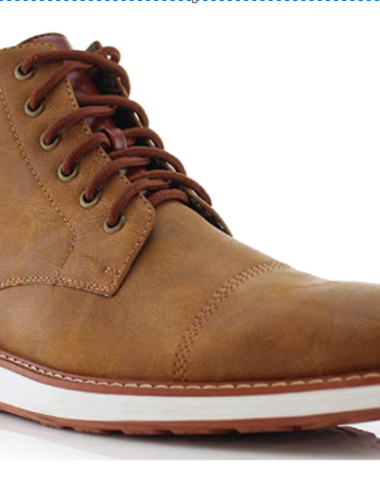 Vegan Leather Chukka Sneaker