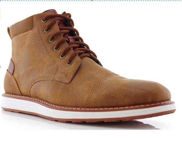 Vegan Leather Chukka Sneaker