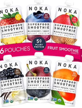 Superfood Smoothie Pouches 100% Organic