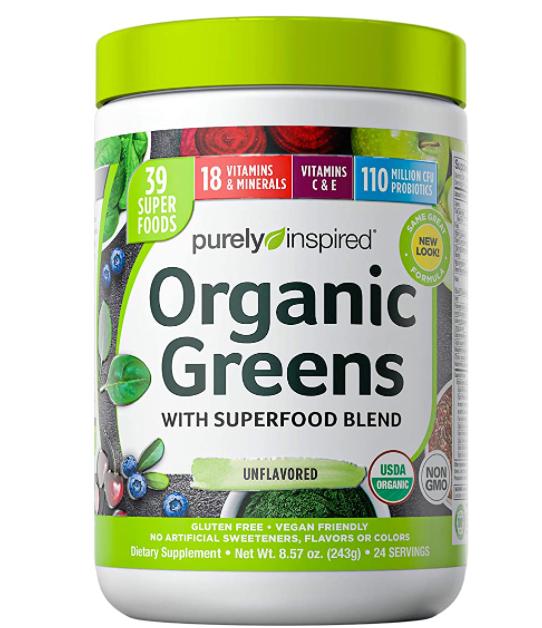 Vegan Superfood Greens Powder Smoothie Mix