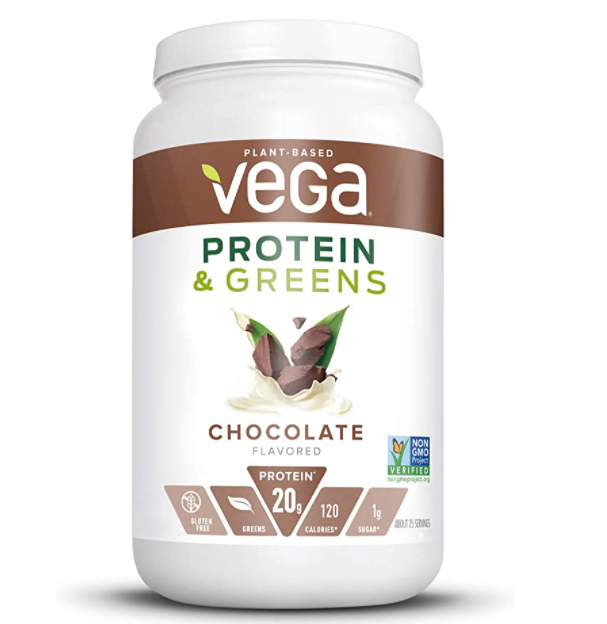 Vega Protein & Greens Powder Chocolate Flavour