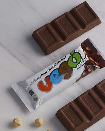 Vegan Vego Whole Hazelnut Chocolate Bar