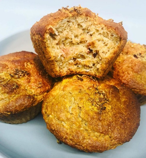 It's super versatile and great to have on hand! It's also super easy to make and bakes up fast within 20 minutes. Plus, it's gluten free, grain free.