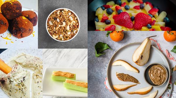 10 No-Fuss Quick Healthy Vegan Snack Ideas