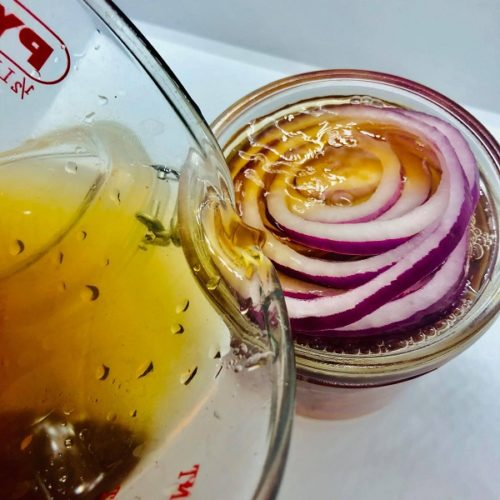 How To Make Restaurant Style Pickled Red Onions