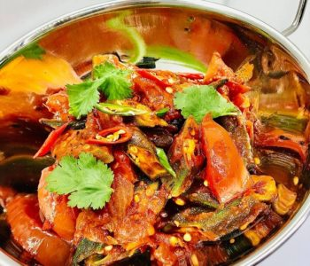 25-Minute Vegan Okra Curry